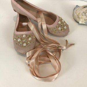 TOP SHOP Ballerina Flats NWT Sz 8/38